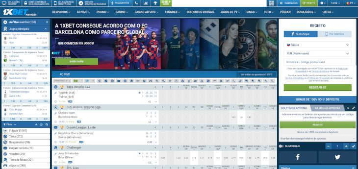 1bet home page