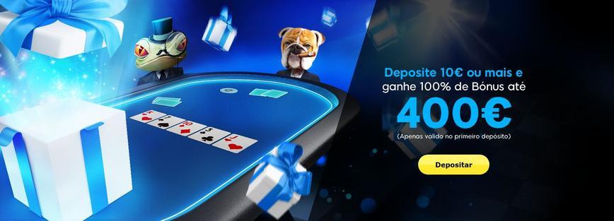 888 Poker Bônus de boas-vindas
